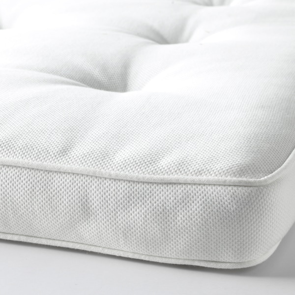 TUSTNA Mattress pad, white, 80x200 cm