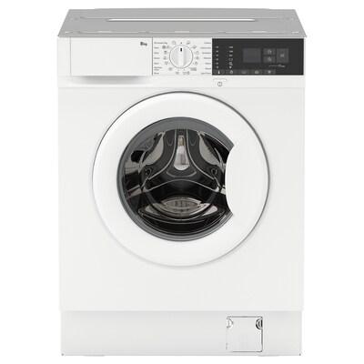 TVÄTTAD Integrated washing machine, white, A+++