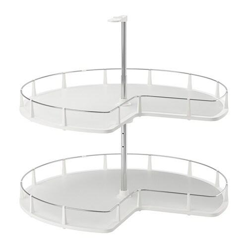 Utrusta Corner Base Cabinet Carousel