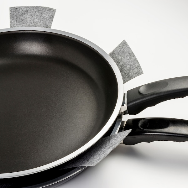 UTRUSTAD Pan protector, grey, 38 cm