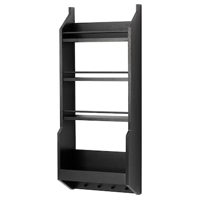 VADHOLMA Wall shelf, black