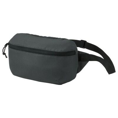 VÄRLDENS belt bag dark grey