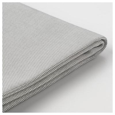 VALLENTUNA Cover for back cushion, Orrsta light grey