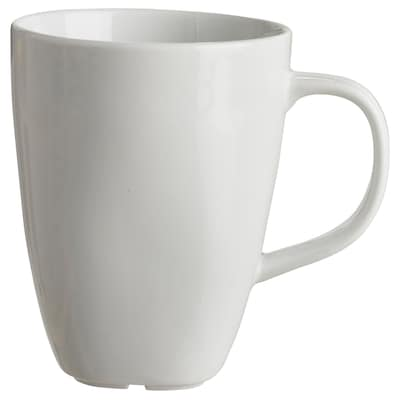 VÄRDERA Mug, white, 30 cl