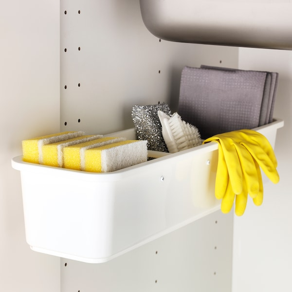 VARIERA Pull-out container, white