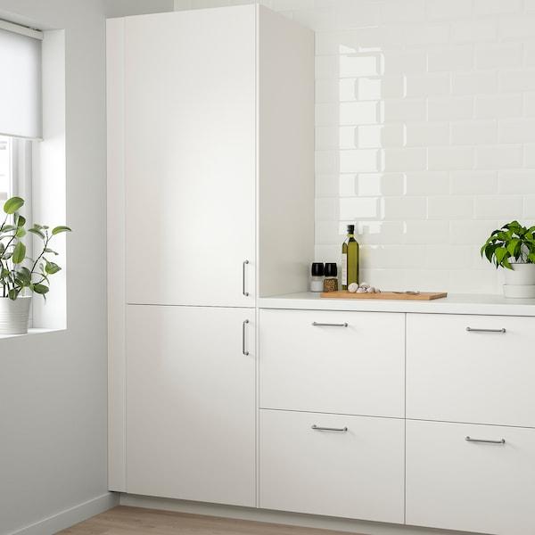 VEDDINGE Front for dishwasher, white, 45x80 cm
