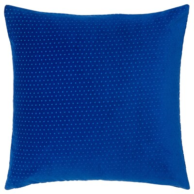 VENCHE cushion cover blue 50 cm 50 cm