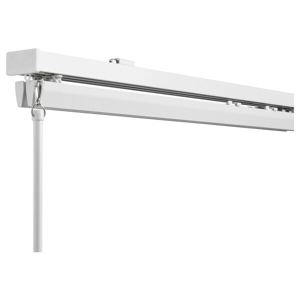 VIDGA Set for panel curtains, ceiling mounted