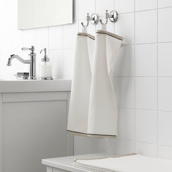VIKFJÄRD guest towel white 50 cm 30 cm 0.15 m² 475 g/m²