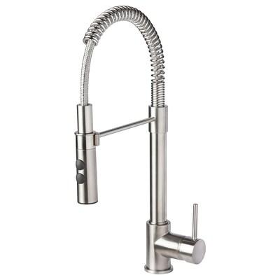 VIMMERN kitchen mixer tap/handspray stainless steel colour 47 cm