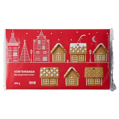 VINTERSAGA Mini gingerbread house, 300 g