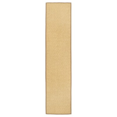 VISTOFT Rug, flatwoven, natural, 80x350 cm