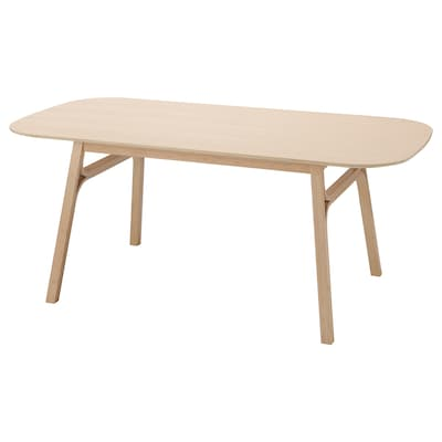 VOXLÖV Dining table, light bamboo, 180x90 cm