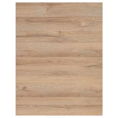 VOXTORP Cover panel, oak effect, 62x80 cm