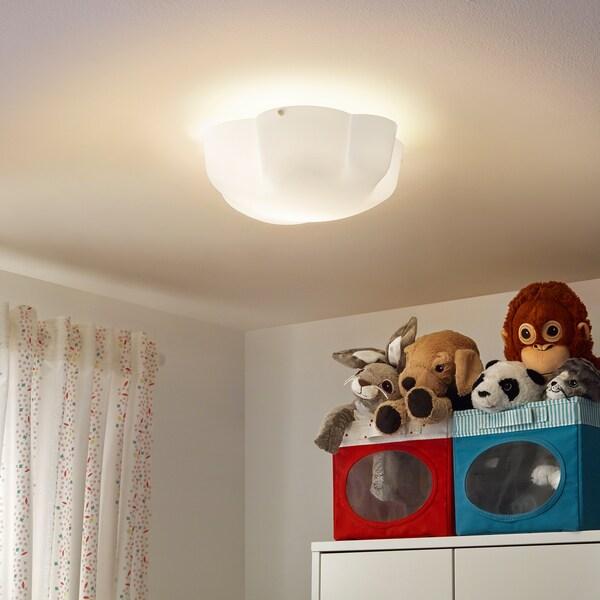 YLLESTA ceiling lamp white 13 W 13 cm 33 cm