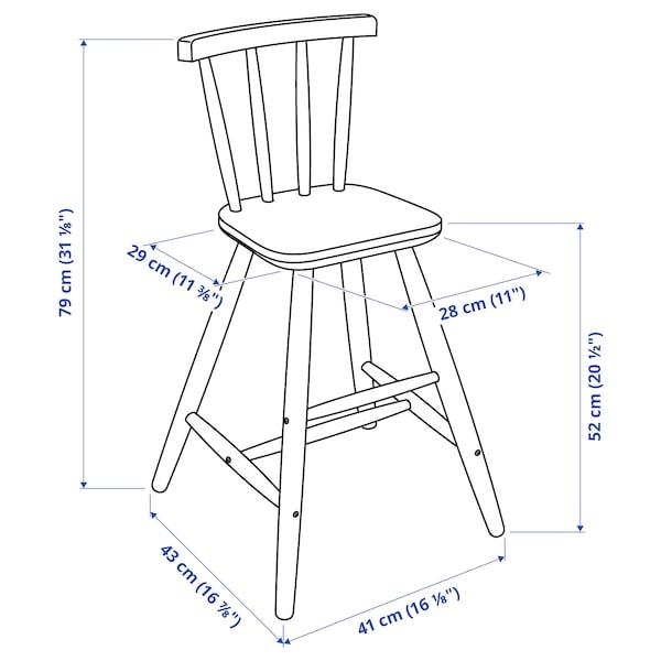 AGAM Kinderstoel, wit