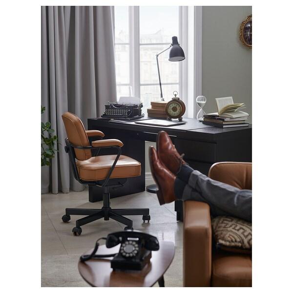 ALEFJÄLL bureaustoel Grann goudbruin 110 kg 64 cm 64 cm 95 cm 51 cm 42 cm 45 cm 56 cm