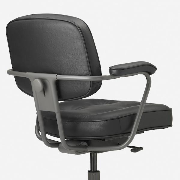 ALEFJÄLL bureaustoel Glose zwart 110 kg 64 cm 64 cm 95 cm 51 cm 42 cm 45 cm 56 cm
