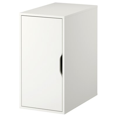 ALEX Opbergmeubel, wit, 36x70 cm