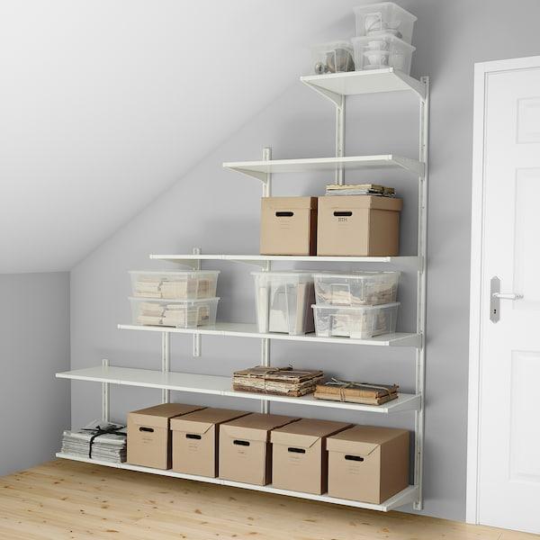 Hedendaags ALGOT Wandrail/planken, wit. Lees meer - IKEA NI-45