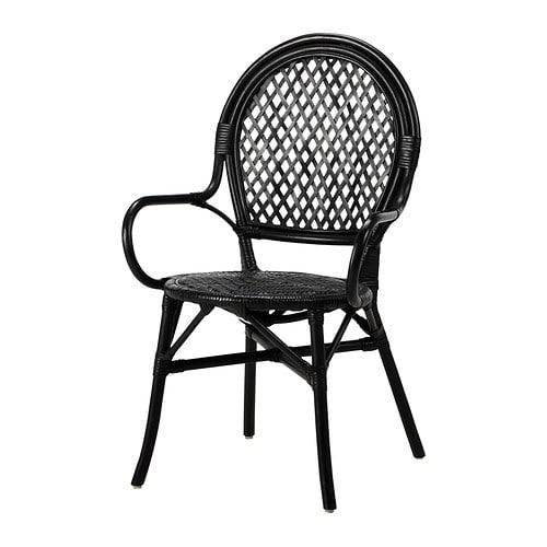 ÄLMSTA rotan stoel