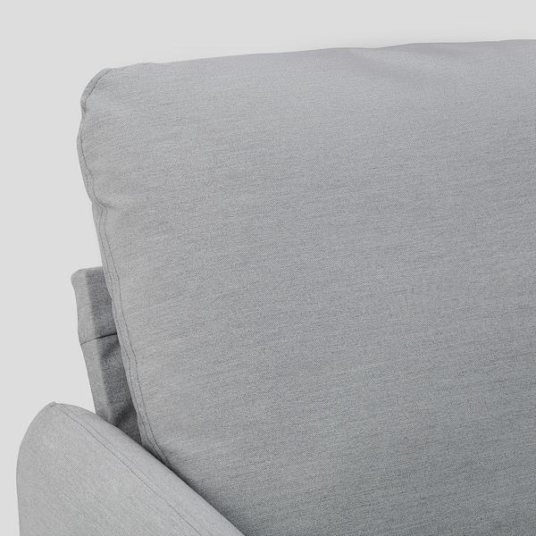 ANGERSBY 2-zitsbank Knisa lichtgrijs 89 cm 73 cm 137 cm 84 cm 120 cm 49 cm 46 cm