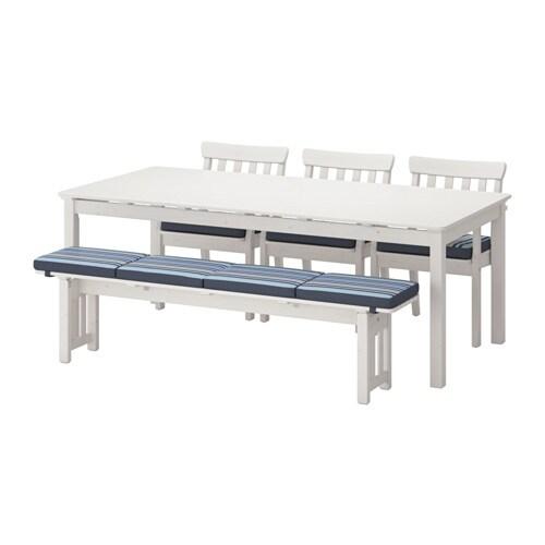 ngs tafel 3 leunstoelen bank buiten ikea. Black Bedroom Furniture Sets. Home Design Ideas