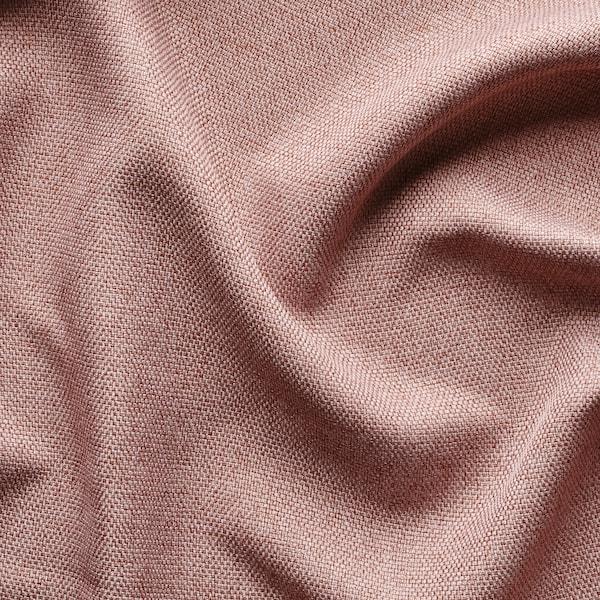 ANNAKAJSA deels verduisterende gordijnen,1pr roze 300 cm 145 cm 3.99 kg 4.35 m² 2 st.