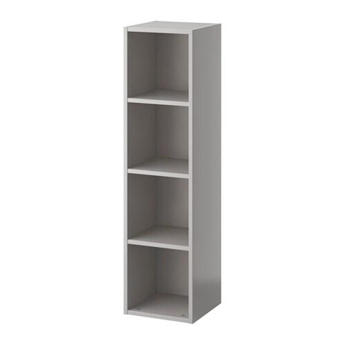 Ikea Keuken Lichtgrijs : Grey IKEA Shelf Unit