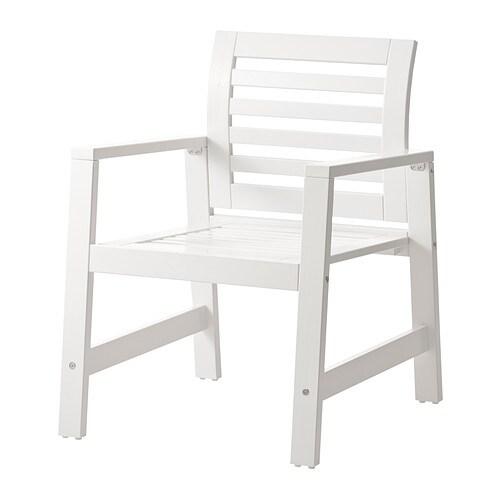 u00c4PPLAR u00d6 Armleunstoel, buiten   , wit   IKEA