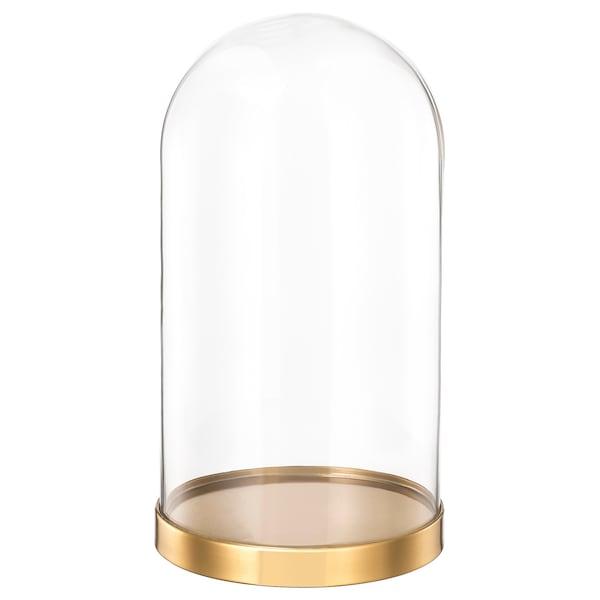 BEGÅVNING Glazen stolp met schotel, 26 cm