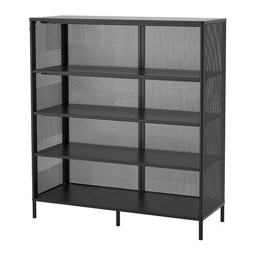 Ongebruikt BEKANT Open kast - zwart - IKEA BV-25