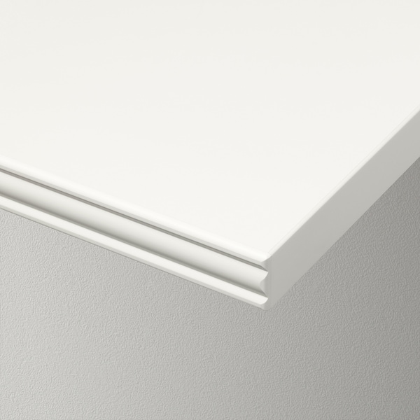 BERGSHULT Plank, wit, 80x20 cm