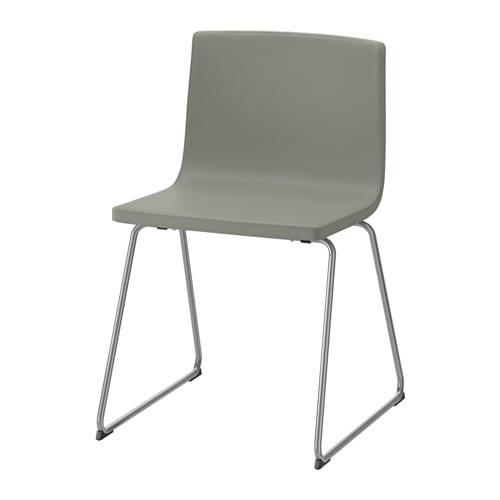 BERNHARD stoel, verchroomd