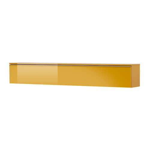 Best burs plank wandkast hoogglans geel ikea - Kleur plank ...