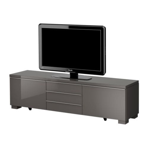 Ikea meubels woonaccessoires keuken slaapkamer - Meuble tv gris laque ikea ...