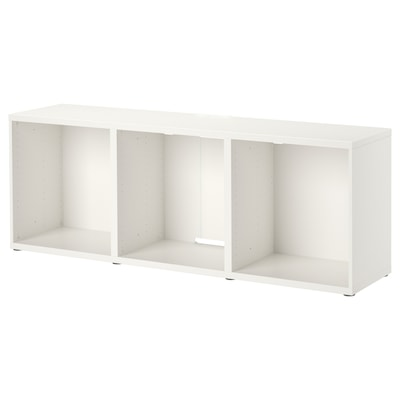 BESTÅ Tv-meubel, wit, 180x40x64 cm