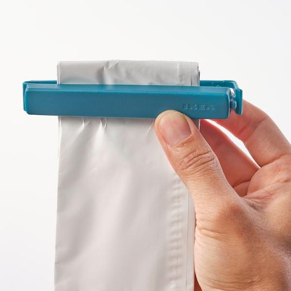 BEVARA Klem voor zakken set van 30, gemengde kleuren/gemengde afmetingen