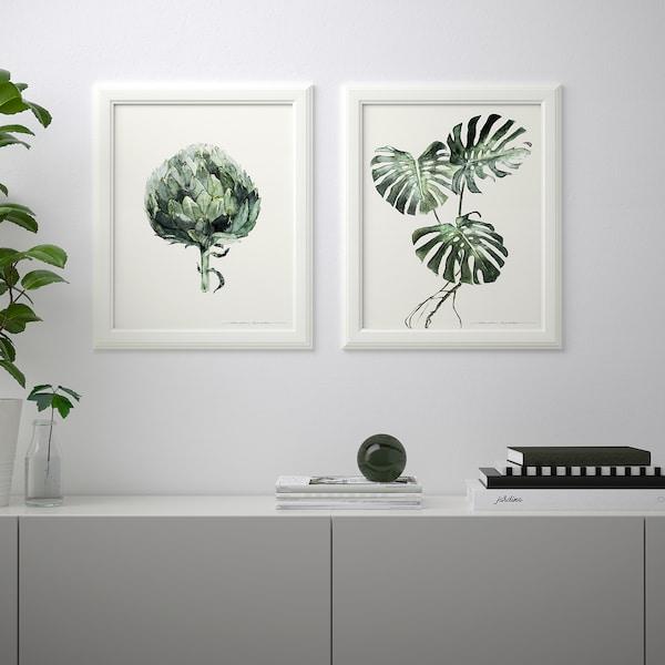 BILD Poster, Groene bladeren, 40x50 cm
