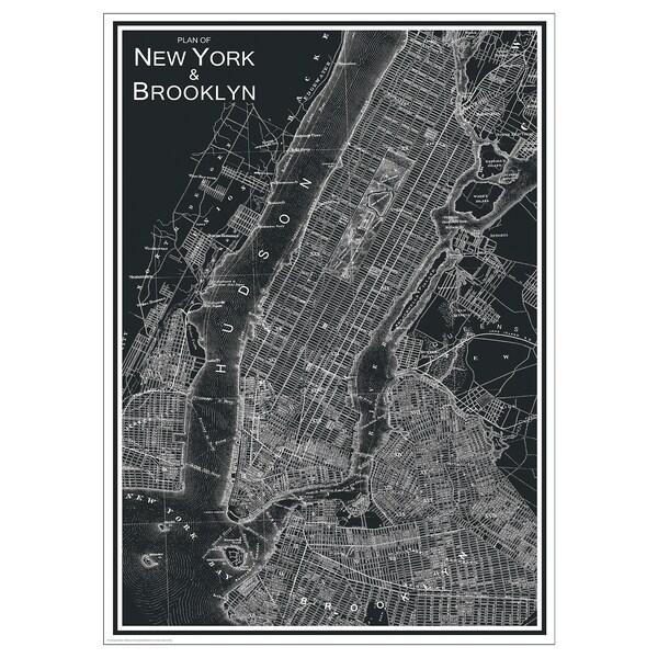BILD poster New York City 50 cm 70 cm