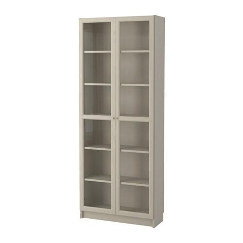 Ikea Billy Boekenkast Voor De Huiskamer: BILLY Boekenkast Met Vitrinedeur