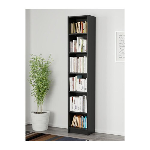 billy boekenkast ikea met ondiepe kasten kunnen ook minder brede wandoppervlakken effectief worden gebruikt
