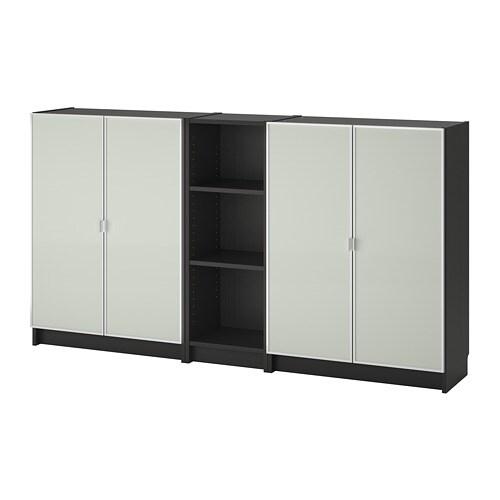 Ikea Expedit Boekenkast Zwart Bruin.Billy Morliden Boekenkast Zwartbruin Ikea