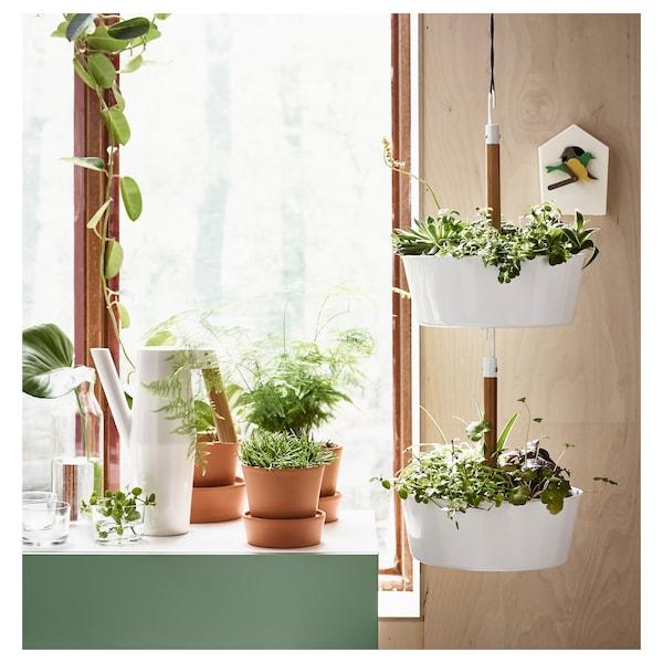 BITTERGURKA plantenhanger wit 37 cm 29 cm