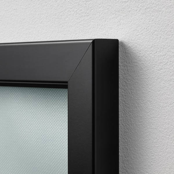 BJÖRKSTA foto met lijst Uitkijkpunt/zwart 140 cm 100 cm