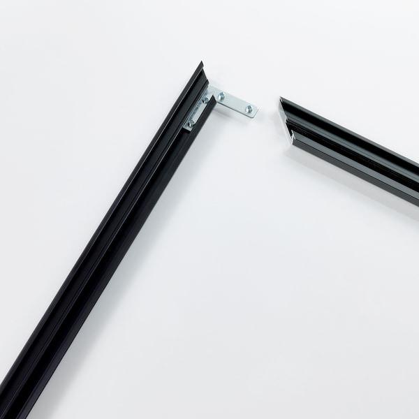 BJÖRKSTA Fotolijst, zwart, 140x56 cm