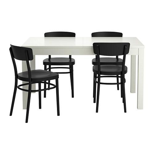 BJURSTA    IDOLF Tafel en 4 stoelen   IKEA