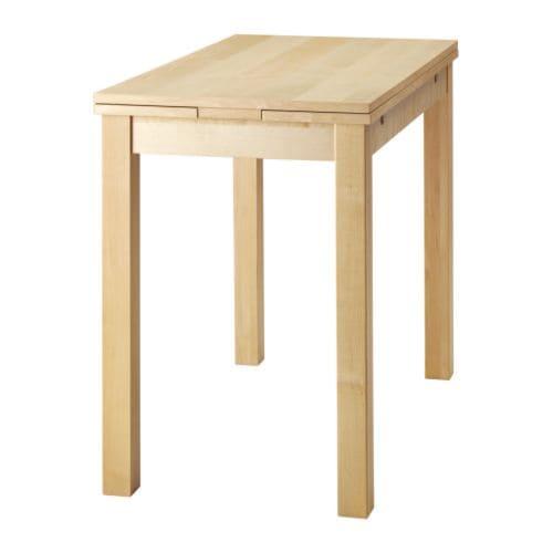 BJURSTA Uitschuifbare tafel   berkenfineer   IKEA