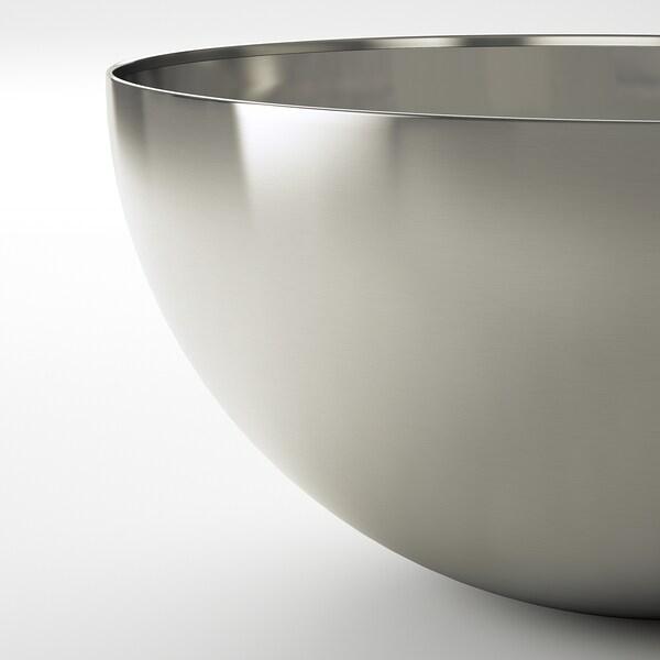 BLANDA BLANK Serveerschaal, roestvrij staal, 28 cm