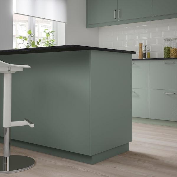 BODARP Bedekkingspaneel, grijsgroen, 39x240 cm